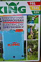 Обприскувач акумуляторний KING 16л. 15Агод