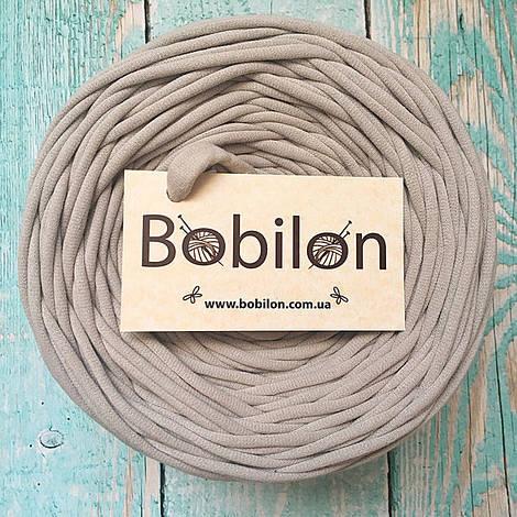 Толстая пряжа Бобилон 5-7 мм, цвет капучино