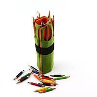 Чехол для карандашей из цветного фетра, фото 1