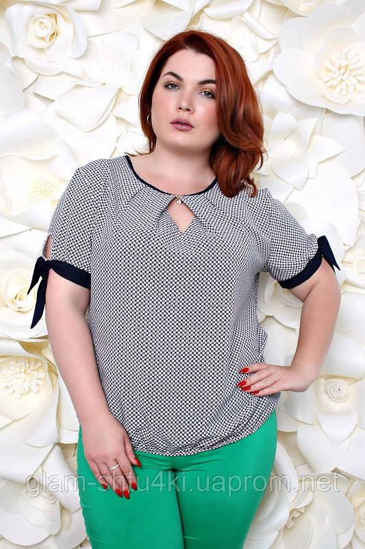 a32d956415c Женская блузка больших размеров (52