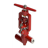 Клапан (вентиль) запорный 589-10-0 , фото 1