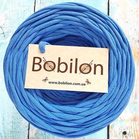 Толстая пряжа Бобилон 5-7 мм, цвет василек