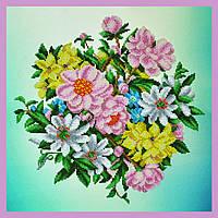 Набор для вышивания бисером «Садовые цветы»