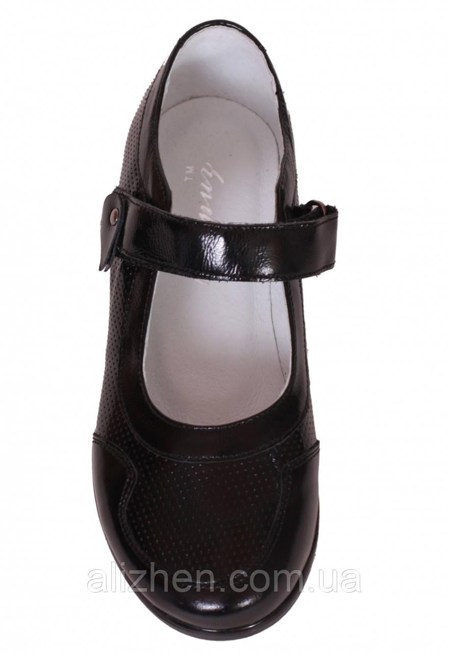 Туфли школьные кожаные детские подростковые для девочки тм Каприз Украина р.  31 32 33 34 ... 13aca3c917764