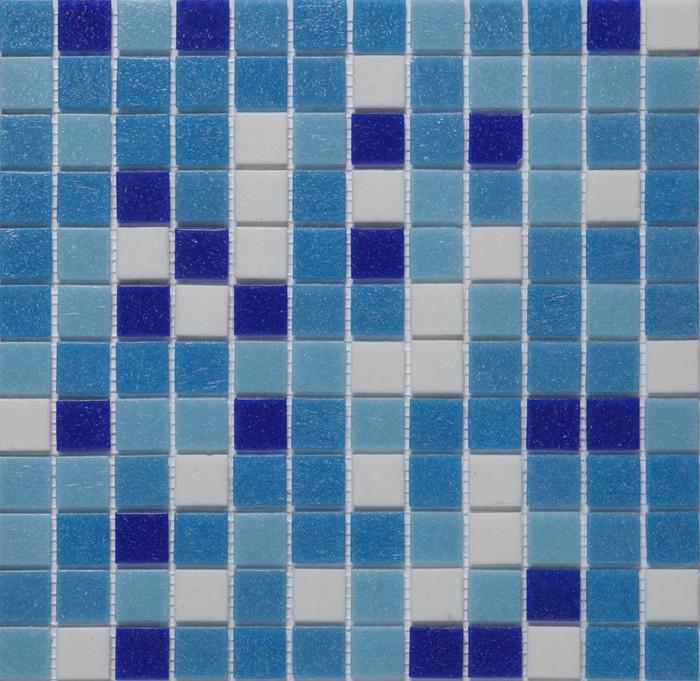 Мозаика стеклянная Vivacer микс 2,5*2,5 GLmix1
