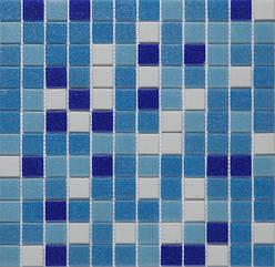 Мозаїка, скляна, Vivacer мікс 2,5*2,5 GLmix1