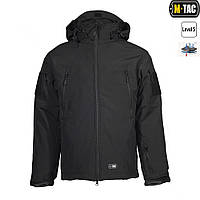 Куртка M-Tac Soft Shell с подстёжкой Black, фото 1