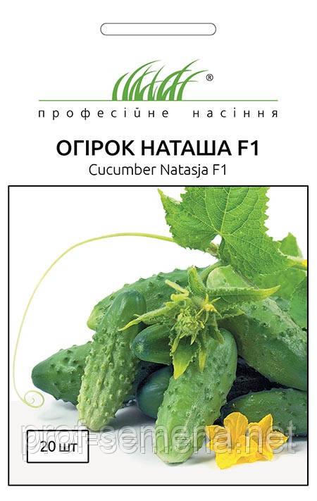 Огірок Наташа F1 20 шт.