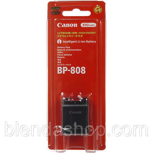 Аккумулятор для камер CANON - BP-808 (аналог - BP-809)