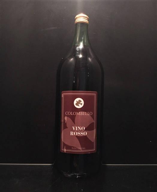 Красное полусухое итальянское вино Colombello Vino Rosso 2л