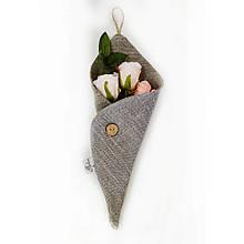 Декоративная композиция Роза в конверте