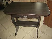Кухонный стол ЦЕЗАРЬ С ЯЩИКОМ венге магия