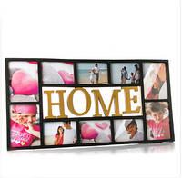 """Фотоколлаж """"Home"""" (73*37см) на 10 фотографий"""
