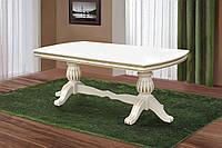 Cтол обеденный раскладной Граф слоновая кость