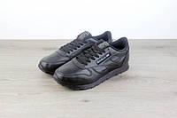 Кроссовки Reebok Classic Leather Чёрные