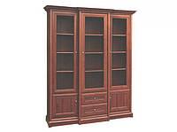 Шкаф витрина 3в/2ш . Мебель Сервис
