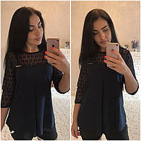 Женская модная блуза ДГр1509