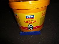 Смазка Литол-24 NLGI 3 Yukoil (ведро пл. 9кг)