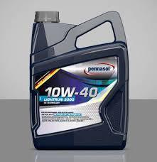Всесезонное моторное масло PENNASOL Lightrun 2000 SAE 10W40, кан 5л