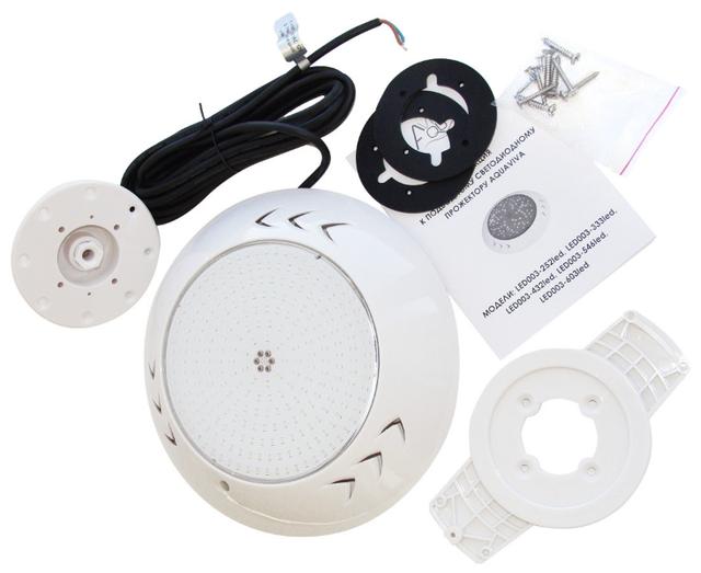 Светодиодный прожектор для бассейна Aquaviva LED003–546LED (RGB)