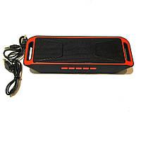 Портативная колонка Music Box SC-208 Bluetooth Red
