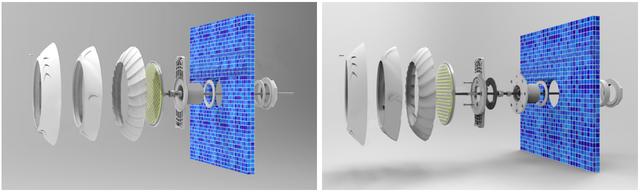 установка светодиодного прожектора Aquaviva LED006–546LED