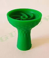 Силиконовая чаша для кальяна Samsaris Зеленая