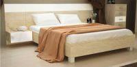 Кровать с тумбочками 1,6 Соната Дуб сонома. Доставка по Украине. Гарантия качества