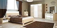 Кровать 1,6 Соната дуб сонома без тумбочек с подъемным механизмом. Доставка по Украине. Гарантия качества