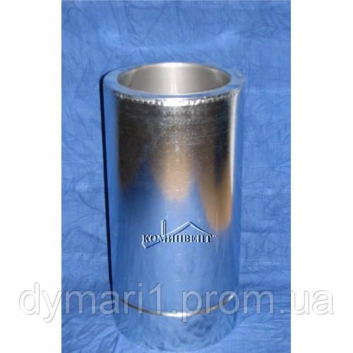 Труба для димоходу 0.5 м нерж./оц. ф150/220