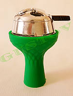 Комплект силиконовая чаша Samsaris Самсарис вихрь Зеленый и калауд Лотус Lotus (Серебристый)