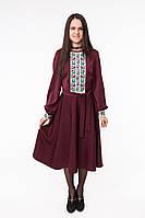 Плаття з вишивкою Квіткове, фото 1