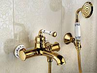 Смеситель для ванны с душевым гарнитуром Venezia Emparador