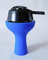 Комплект силиконовая чаша Samsaris Самсарис вихрь Синий и калауд Лотус Lotus (Черный)