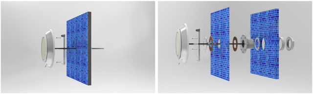 установка светодиодного прожектора Aquaviva LED002–252LED
