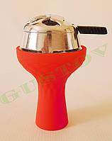 Комплект силиконовая чаша Samsaris Самсарис вихрь Красный и калауд Лотус Lotus (Серебристый)
