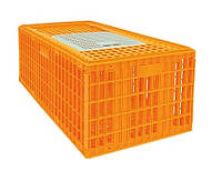 Ящик для перевозки гусей, индюков, уток 770х570х420 мм однодверный