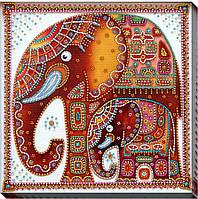"""Набор для вышивки бисером """"Слоны"""""""