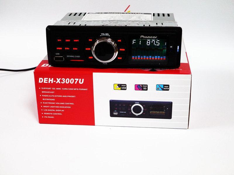 Автомагнітола Pioneer DEH-X3007U - USB+SD+FM+AUX