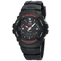 Мужские часы Casio G-Shock G100-1BV Касио ударопрочные японские кварцевые