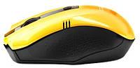 Мышь Gresso GM-896G Wireless Yellow