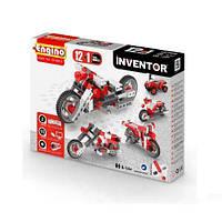 Конструктор серии INVENTOR 12 в 1 - Мотоциклы для детей от 6 лет (86 элементов, пластик) ТМ Engino 1232