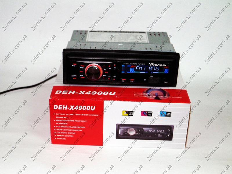 Автомагнитола Pioneer DEH-X4900U - USB+SD+FM+AUX