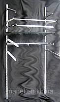Торговое оборудование настенное КRС. Рейка 2-я металлик, фото 3