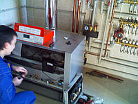 Ремонт газового напольного котла от 30-105кВт