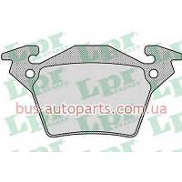 Тормозные колодки задние Mercedes Vito 638 LPR 05P948