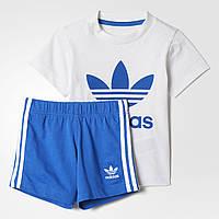 Детский Костюм Adidas Originals Trefoil Set Kids BJ9050, фото 1