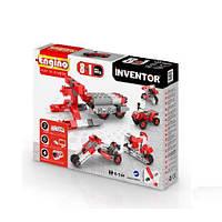 Конструктор серии INVENTOR 8 в 1 - Мотоциклы для детей от 6 лет (71 элемент, пластик) ТМ Engino 0832