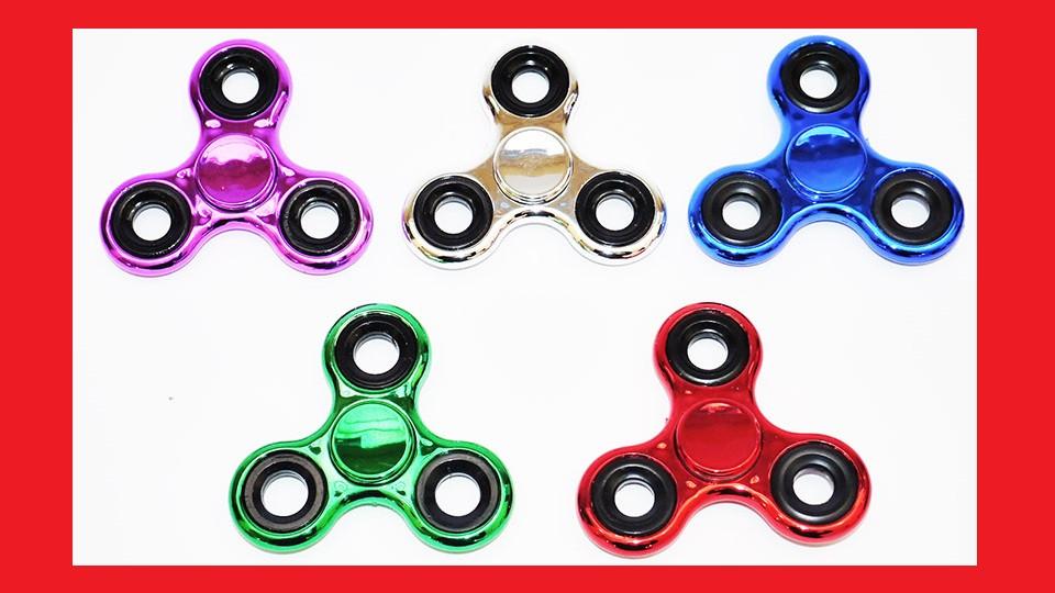 Spinner спинер spinner игрушка крутилка хромовый