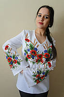 Заготовка жіночої сорочки для вишивки нитками/бісером БС-23